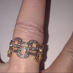 Jewelry - .20 CTW DIAMOND GOLD BAND